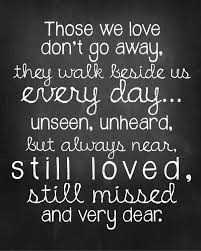 in memory of someone who away quotes quotes about missing