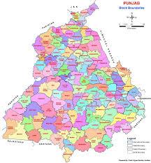Map Of Punjab India by Krishi Vigyan Kendra Kvk Faridkot