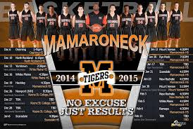 high school senior banners custom team schedule mamaroneck high school