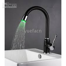 led kitchen faucets 2017 single handle chrome kitchen mixer pull led kitchen