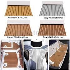 Boat Carpet Adhesive Self Adhesive Eva Faux Foam Teak Sheet Boat Decking Floor Mat