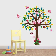 baby nursery wall stickers girls nursery tree wall sticker