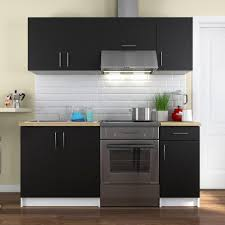 meuble de cuisine noir unique meuble de cuisine noir laqué design de maison