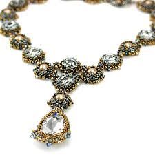 beading pattern necklace images Beading kits bead weaving patterns tutorials beginner jpg