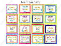 lunch box planner template 25 free printable lunch notes the peaceful mom