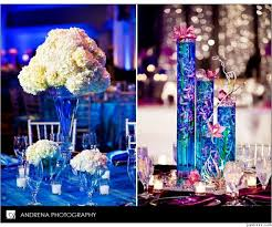 28 best colored water event u0026 wedding decor images on pinterest