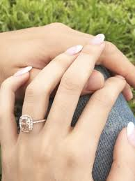 ring marriage finger what the average girl considers a big engagement ring whowhatwear