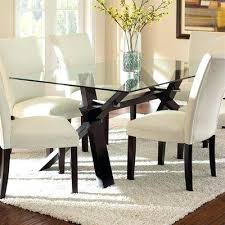 rectangular glass top dining room tables dining room awesome rectangular glass dining table combine with
