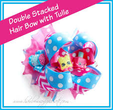 hair bow supplies how to add tulle to a hair bow shopkins hair bow adorable hair
