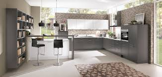 grey modern kitchen credo 765 slate grey modern kitchens nobilia küchen