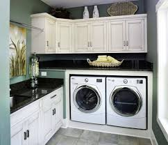 kitchen laundry ideas cabinets go around the wall not just one one side laundry room