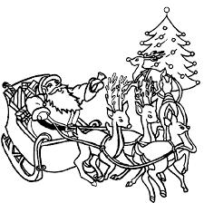 santa clause coloring pages coloring pages of santa claus christmas christmas coloring pages