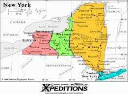map new york state allamericanwineries select a region within new york