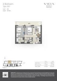floor plans vida residences dubai mall downtown dubai by emaar