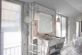 marble dual bathroom vanity design ideas