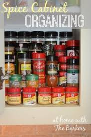 Spice Cabinet Organization How To Organize Your Spice Cabinet Organize Your Kitchen