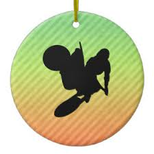 motocross tree decorations ornaments zazzle co uk