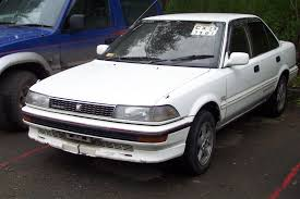 1991 Toyota Corolla Hatchback Toyota Corolla 1 8 1987 Technical Specifications Interior And