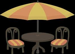 chairs clipart free images garden s zone garden cafe table and