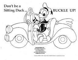 safer nm don u0027t sitting duck coloring sheet download