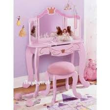 Kidkraft Vanity Table Kidkraft Pink Princess Bedroom Vanity Set Kids Bedroom Vanities On