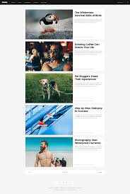 Torquent Per Conubia Nostra by Rever Creative Magazine Psd Template By Playskull Themeforest