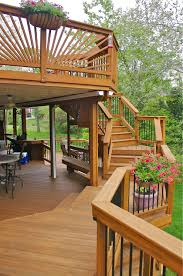 custom decks in illinois by american deck u0026 sunroom