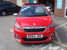 peugeot 108 used cars used red peugeot 108 for sale devon