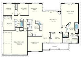 and bathroom house plans 3 bedroom plans houses simple 3 bedroom floor plans simple