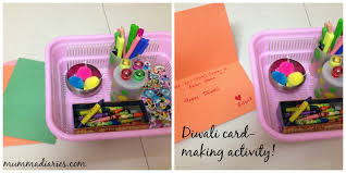 diwali festival themed toddler activities mumma diaries