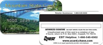 ebt wv ebt west virginia dhhr electronic benefits transfer ebt