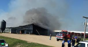 Large Barn Multiple Fire Crews Respond To Large Barn Fire South Of Lake Park