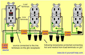wiring diagram for a 20 amp double receptacle circuit breaker