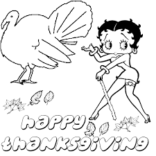 betty boop thanksgiving clipart 29