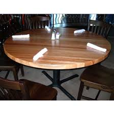 table tops round hard maple butcher block table tops by john