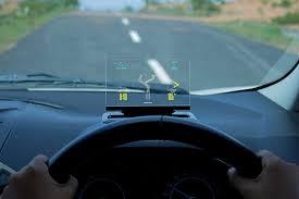 lexus rx heads up display exploride gives older cars sleek inexpensive head up display