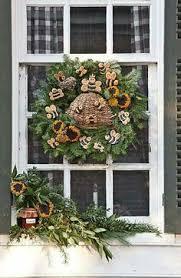 colonial williamsburg above door fruit swag wreath swag ideas