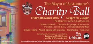 Winter Garden Mayor - snap up your tickets for the mayor of eastbourne u0027s charity ball