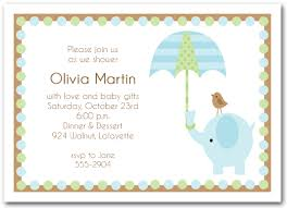 elephant umbrella boy baby shower invitations boy baby shower
