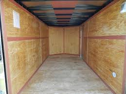 V Nose Enclosed Trailer Cabinets by Homesteader 7 X 14 V Nose Enclosed Trailer 6