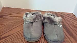 ugg boots sale size 2 gray ugg suede scuff slippers size medium 52297f570a2227b50772a8487baffc3a jpg