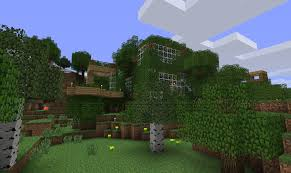 minecraft tree house by snikzzz on deviantart
