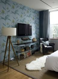 helpful tips for creating an accent wall view in gallery wallpapered accent wall in a modern bedroom