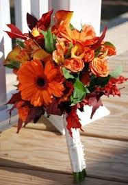 wedding flowers fall 50 fall wedding bouquets for autumn brides autumn orange