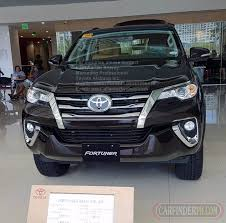 toyota philippines 95k tfs dp promo 2018 toyota fortuner 4x2 g at dsl new and used