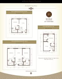The Blake At Oxford Floor Plans