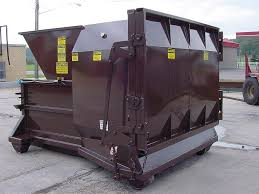 self contained compactors called