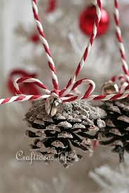 ornaments to craft pine cone ornaments