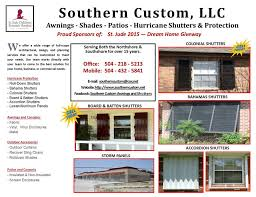 Jans Awning Products Southern Custom Awnings And Shutters Home Facebook
