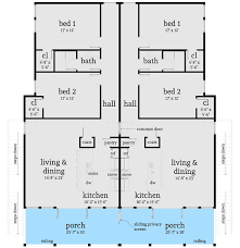duplex beach house plans modern beach duplex plan 44127td architectural designs house plans
